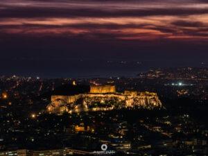 Athens- Dusk, Φωτογράφος Αλέξανδρος Μπαγιώκος